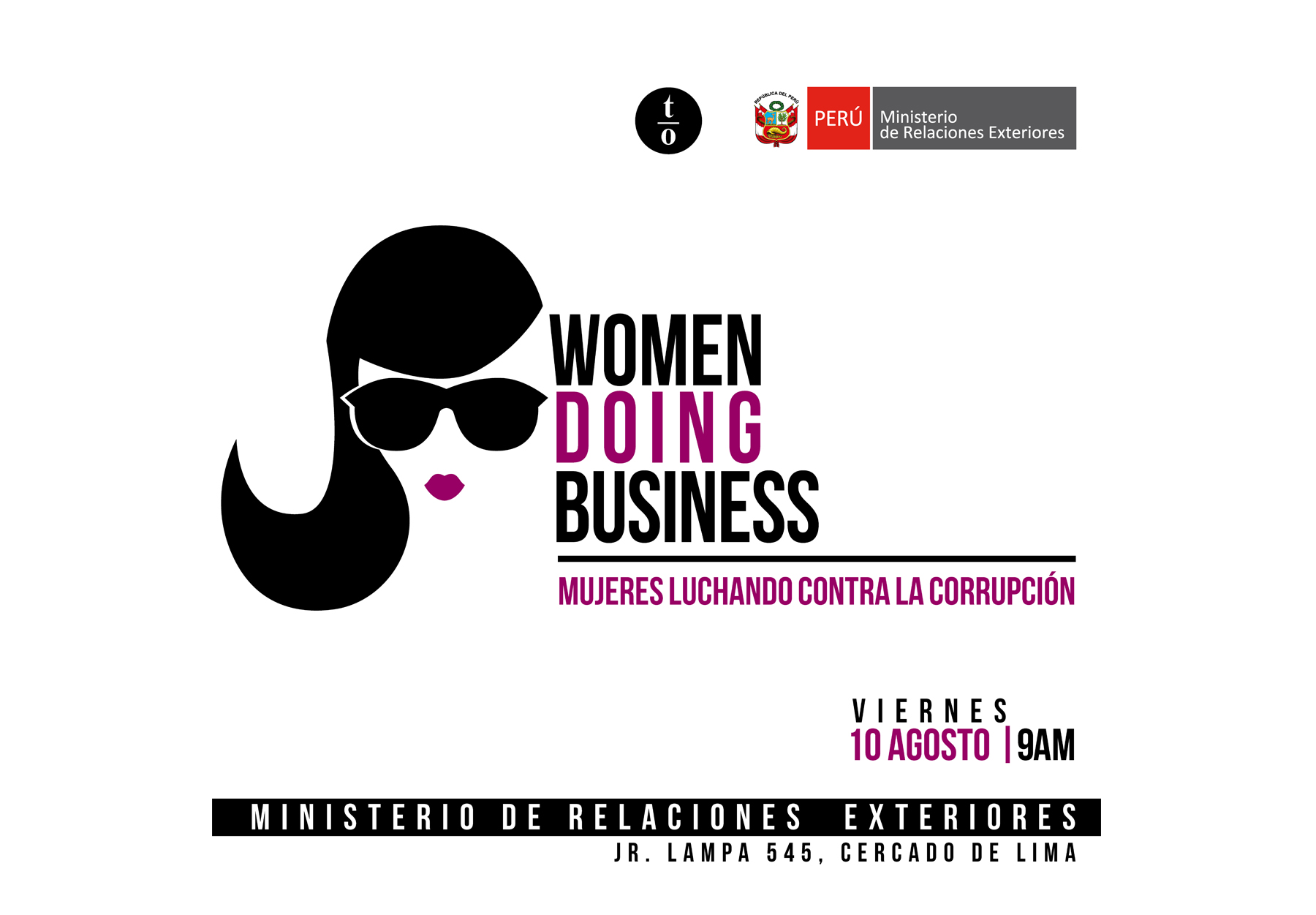 WOMEN DOING BUSINESS - mujeres luchando contra la corrupción BETA