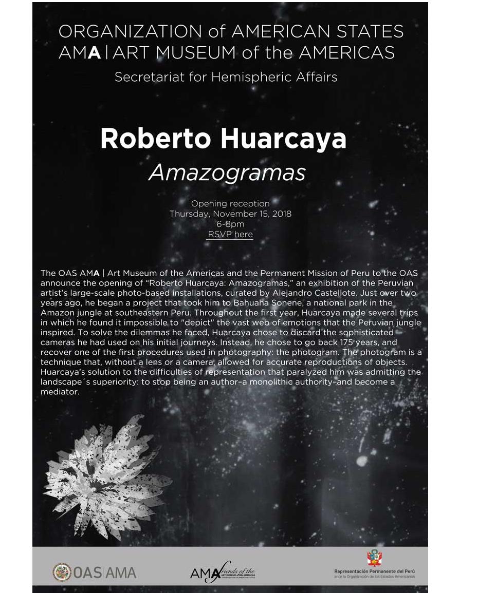 Invitación presentación R. Huarcaya
