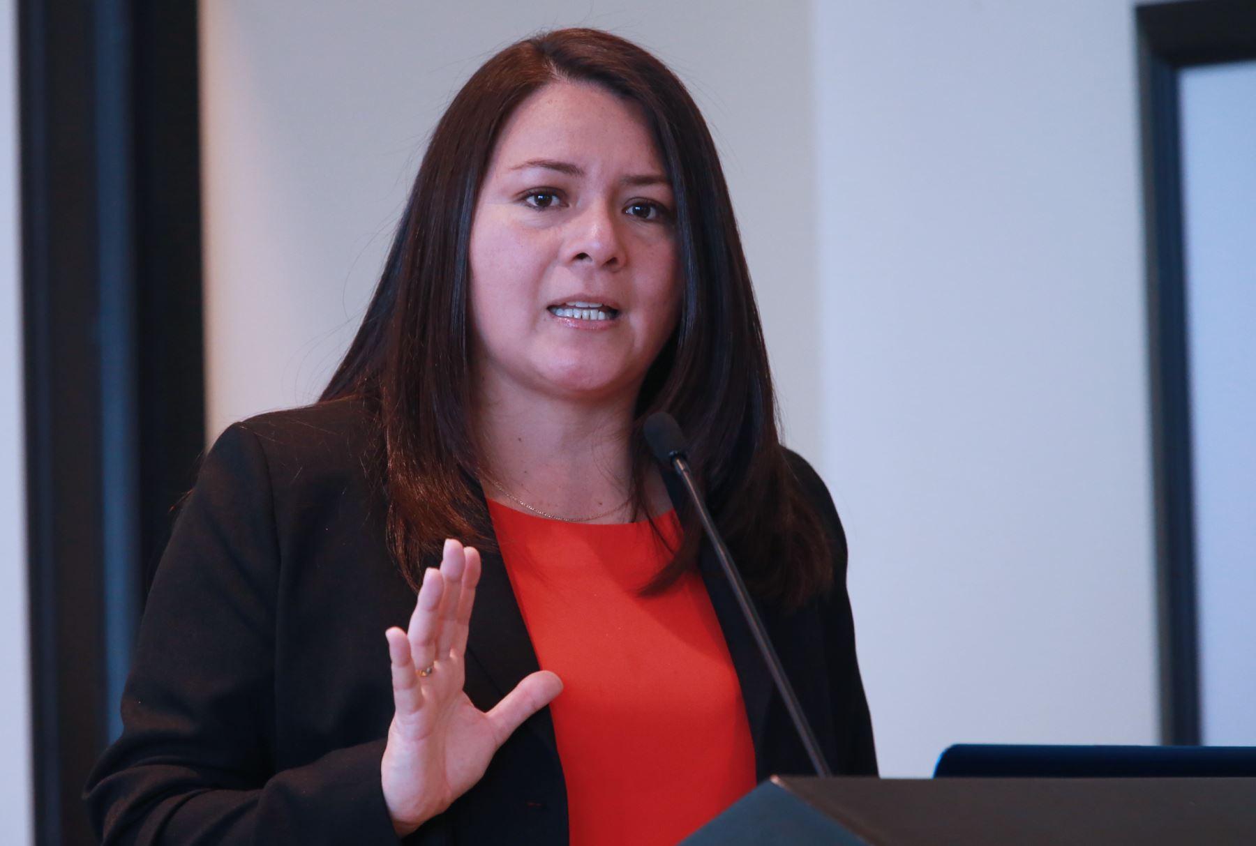 Marushka Chocobar, Secretaria de Gobierno Digital de la PCM. Foto: ANDINA/Norman Córdova