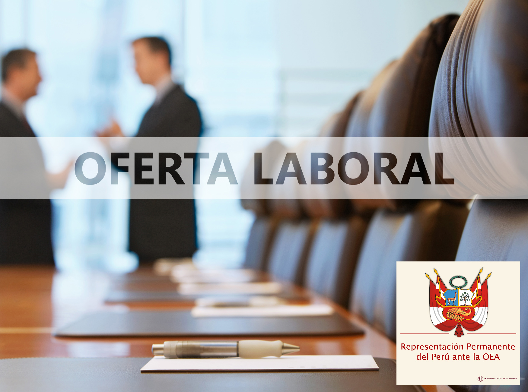 Oferta-Laboral-Perú-OEA